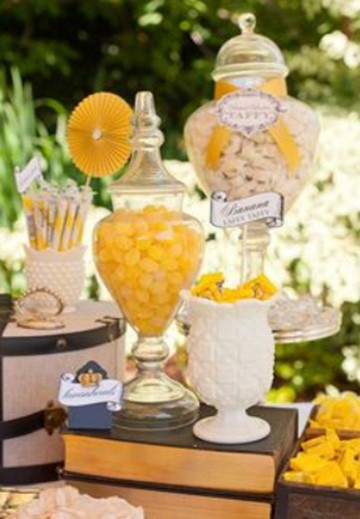 Yellow Candy For Buffets