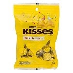 Yellow Hershey Kisses Bag - 12ct