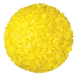Yellow Lemon Rock Candy Crystals - 5lbs