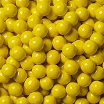 Single Color Sixlets - Golden Yellow - 12lbs