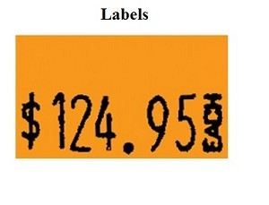 1131 One Line Labels - 8ct