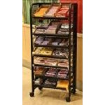 Premium Candy Display Rack - 24in