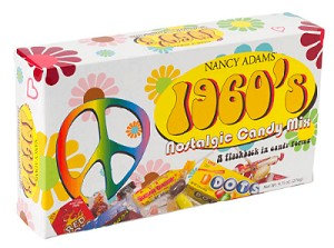1960's Decade Candy Box - 6ct
