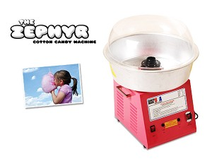 The Zephyr Cotton Candy Machine