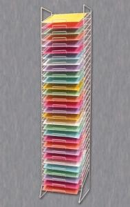 Paper Rack Tower- Slot Choice - 12x12