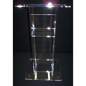 "28"" Traditional Acrylic Podium - Color Choice"