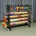 Double Wide - Double Sided Candy Rack