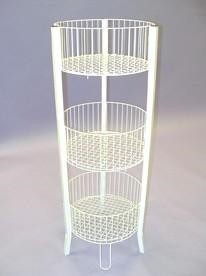 3 Tier Wire Dump Bin Rack