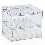 3 Tier 21 Compartment Cosmetic Display
