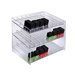 3 Tier 24 Compartment Cosmetic Display