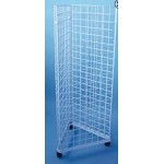 3 Way Rolling Grid Display - 4 Foot