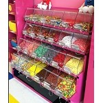 4 Tier Metal Candy Display - Color Choice