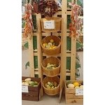 4 Tub Display Rack