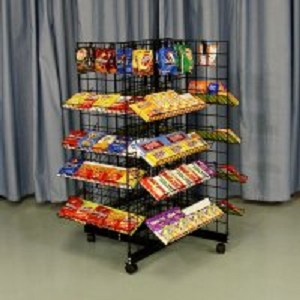 4 Way Candy Rack