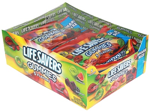 5 Flavor Life Savers Gummies - 15ct