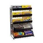 5 Tier Merchandise Counter Rack