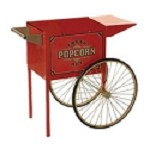 Antique Trolley for Street Vendor Poppers