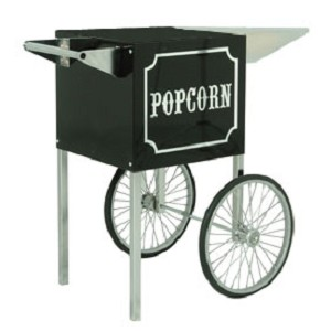 Cart for the 1911 Black and Chrome 4oz Popcorn Machine