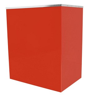 Red Stand for Classic Pop 20oz Popcorn Machine