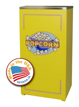 Yellow Stand for 4oz Cineplex Popcorn Machine