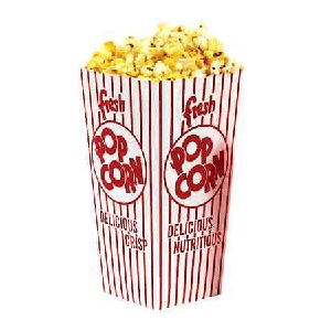 .75 ounces Popcorn Scoop boxes- 100ct