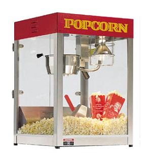 Gold Rush 6oz Popcorn Machine