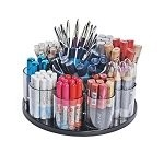 9 Cup Counter Organizer with Dispenser