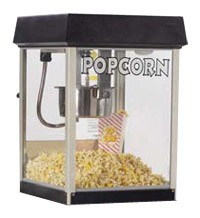 Black Fun Pop 4oz Popcorn Machine