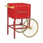 Cart for Red Fun Pop 4oz Popcorn Machine