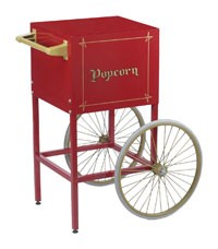Cart for Fun Pop 8oz Popcorn Machine