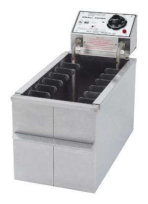 Corn Dog - Small Fryer w/ Drain, 230 V