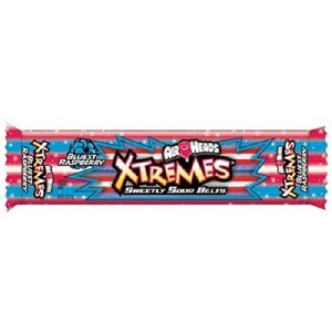 Xtremes Rainbow Bluest Raspberry Belts - 18ct