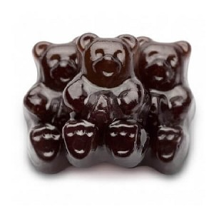 Black Cherry Gummi Bears - 20lbs