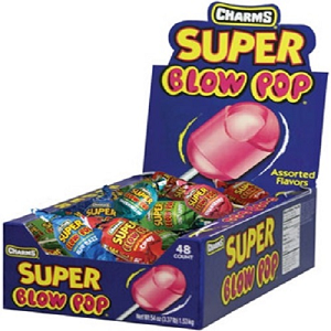 Blow Pops Display - Assorted Flavors