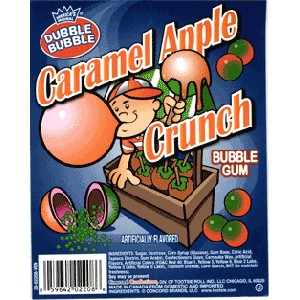 Caramel Apple Crunch Gumballs - 850ct