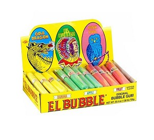 El Bubble Original Bubble Gum Cigars - 36ct