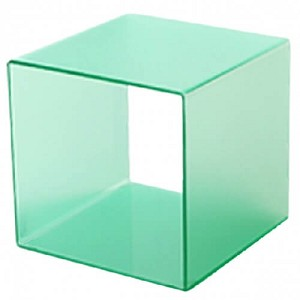 Frosted Cube Riser - 10in