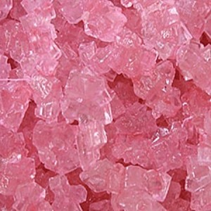 Pink Cherry Rock Candy Strings - 5lbs