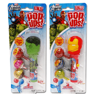 Pop Ups Avengers Blister Pack - 6ct