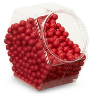 Single Color Sixlets - Red - 12lbs