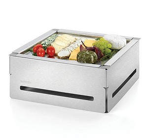 Square Stainless Steel Buffet Set