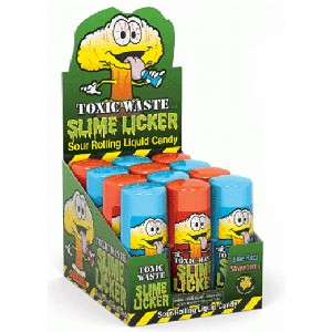 Toxic Waste Slime Licker  - 12ct