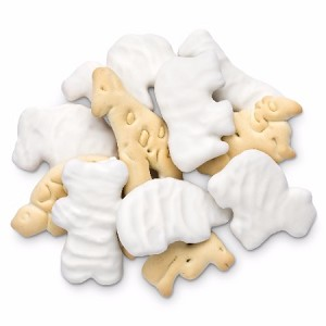 White Yogurt Coated Animal Crackers - 10lbs