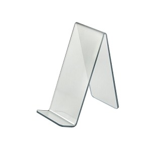 "Acrylic Easel With Lip - 4"" - 10ct"