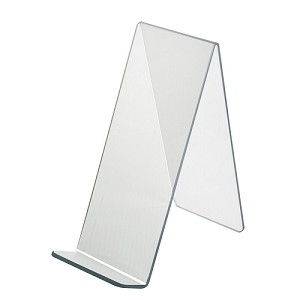 "Acrylic Easel With Lip - 4 1/2"" - 10ct"