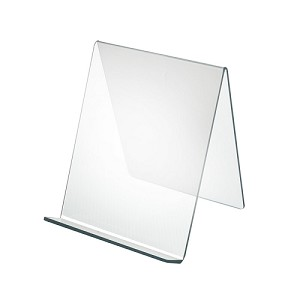 "Acrylic Easel With Lip - 8"" - 10ct"