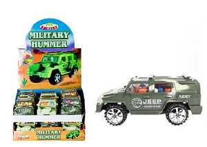Army Hummer w/ Candy  - 12ct
