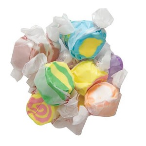 Assorted Tropical Salt Water Taffy - 20lbs