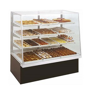 Bakery Display Case - Non-Refrigerated - 48""