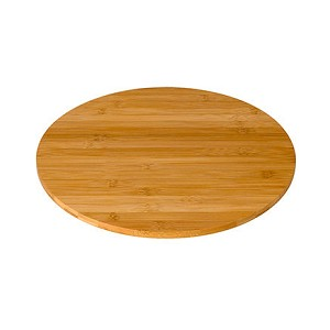 Round Natural Bamboo Surface - 20 Inch